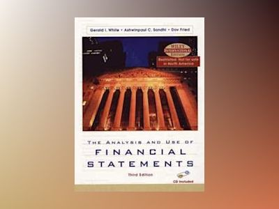 WIE The Analysis and Use of Financial Statements with CD, 3rd Edition av Gerald I. White