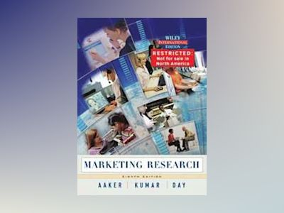 WIE Marketing Research, 8th Edition av David A. Aaker