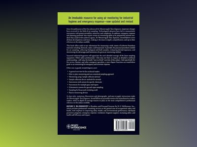 Air Monitoring for Toxic Exposures: An Integrated Approach, 2nd Edition av Henry J. McDermott
