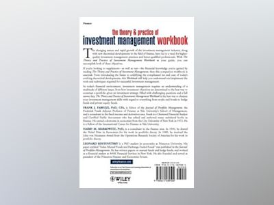 The Theory and Practice of Investment Management Workbook: Step-by-Step Exe av Harry M. Markowitz