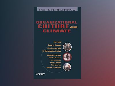 The International Handbook of Organizational Culture and Climate av Cary L. Cooper