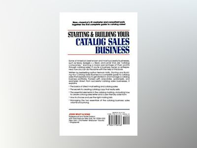 Starting and Building Your Catalog Sales Business: Secrets for Success in O av Herman Holtz