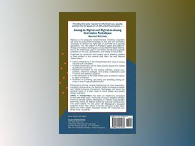 Analog-to-Digital and Digital-to-Analog Conversion Techniques, 2nd Edition av David F. Hoeschele