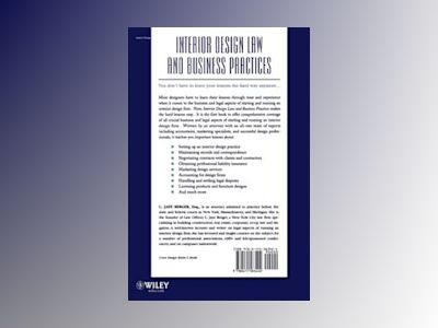 Interior Design Law and Business Practices av C. Jaye Berger