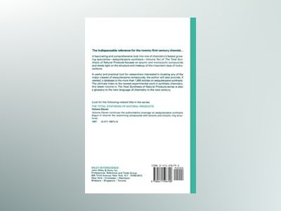 The Total Synthesis of Natural Products, Volume 10, Acyclic and Monocyclic av Michael C. Pirrung