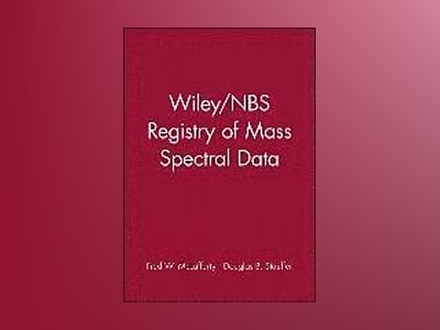 Wiley/NBS Registry of Mass Spectral Data av Fred McLafferty