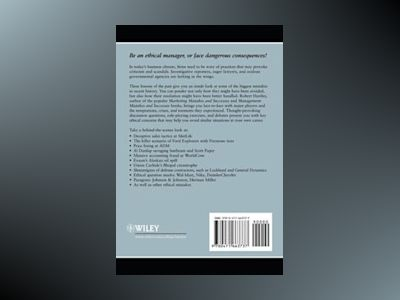 Business Ethics: Mistakes and Successes av Robert F. Hartley