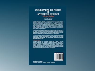Understanding the Process of Operational Research: Collected Readings av Paul Keys