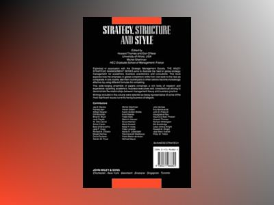 The Strategic Management Series, Strategy, Structure and Style av Howard Thomas
