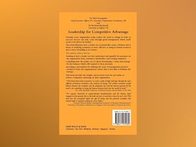 Leadership for Competitive Advantage av Nick Georgiades