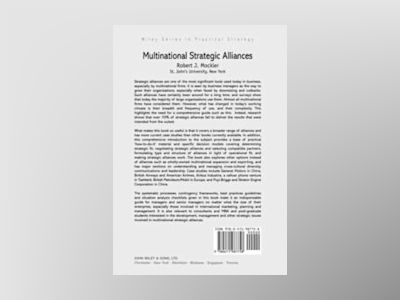 CBI Series in Practical Strategy, Multinational Strategic Alliances, av Robert J. Mockler
