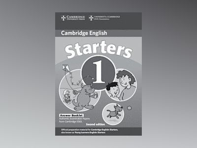 Cambridge young learners english tests starters 1 answer booklet - examinat av Cambridge Esol