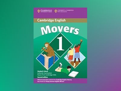 Cambridge young learners english tests movers 1 students book - examination av Cambridge Esol