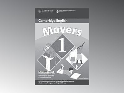 Cambridge young learners english tests movers 1 answer booklet - examinatio av Cambridge Esol