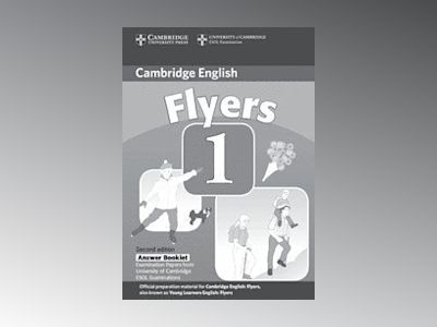 Cambridge young learners english tests flyers 1 answer booklet - examinatio av Cambridge Esol