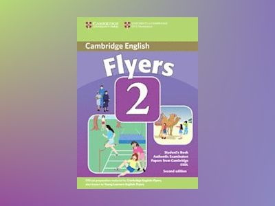 Cambridge young learners english tests flyers 2 students book - examination av Cambridge Esol