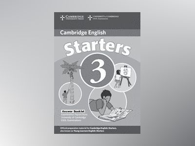 Cambridge young learners english tests starters 3 answer booklet - examinat av Cambridge Esol