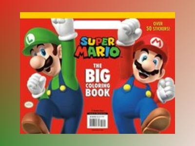 Super Mario: The Big Coloring Book (Nintendo) av Random House