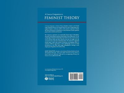 A Concise Companion to Feminist Theory av Mary Eagleton