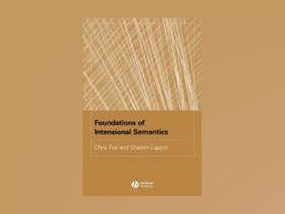 Foundations of Intensional Semantics av Chris Fox