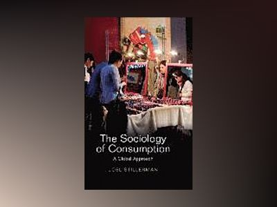 The Sociology of Consumption: A Global Approach av Joel Stillerman