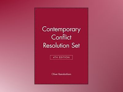 Contemporary Conflict Resolution, 4e Set av Oliver Ramsbotham