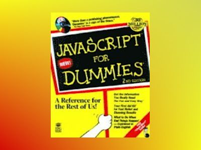 JavaScript For Dummies, 2E av VANDER VEE