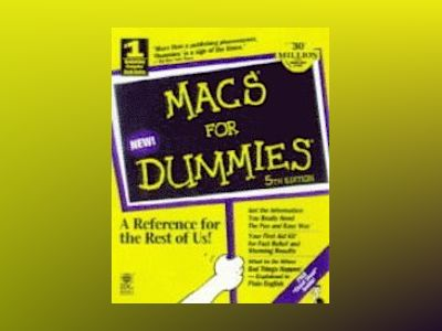 Macs for Dummies 5th Edition av Pogue
