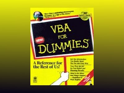 VBA For Dummies av Cummings