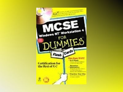 MCSE Windows NT Workstation 4 For Dummies Flash Cards av Dummies Tech Press