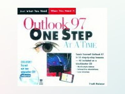 Outlook 97 One Step at a Time av Trudi Reisner
