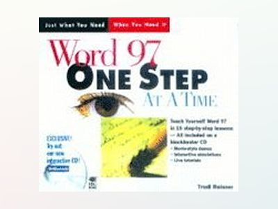 Word 97 One Step at a Time av Trudi Reisner