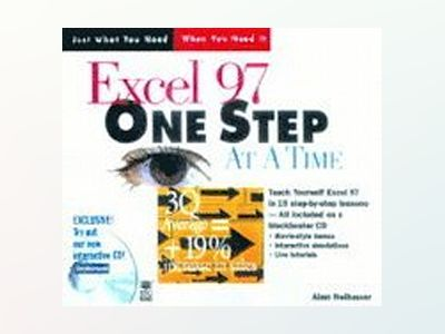 Excel 97 One Step at a Time av Alan Neibauer