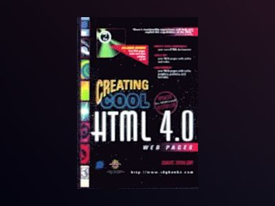 Creating Cool HTML 4 Web Pages av TAYLOR D