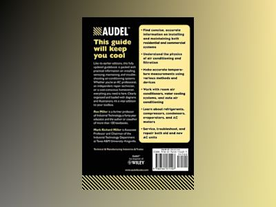 AudelTMAir Conditioning Home and Commercial, All New 5th Edition av Rex Miller