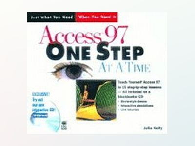 Access 97 One Step at a Time av Julia Kelly
