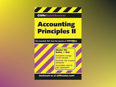CliffsQuickReviewTM Accounting Principles II av Elizabeth A. Minbiole