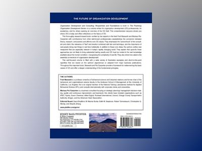 Organization Development and Consulting: Perspectives and Foundations av Fred Massarik