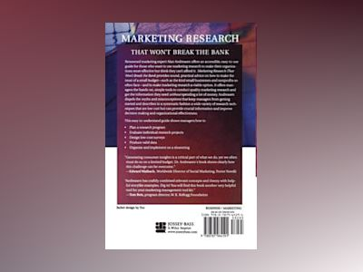 Marketing Research That Won't Break the Bank: A Practical Guide to Getting av Alan R. Andreasen