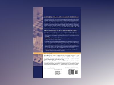 Clinical Trials and Human Research: A Practical Guide to Regulatory Complia av Fay A. Rozovsky JD