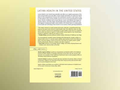 Latina Health in the United States: A Public Health Reader av Marilyn Aguirre-Molina
