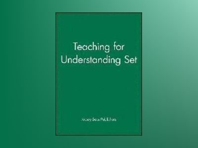 Teaching for Understanding Set av Jossey-Bass Publishers