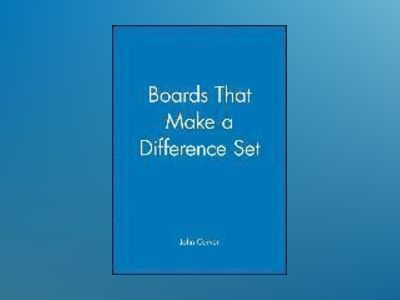 Boards That Make a Difference Set av John Carver