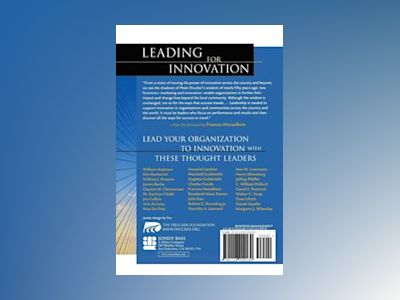 Leading for Innovation: And Organizing for Results av Frances Hesselbein