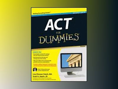 ACT For Dummies, with CD, Premier 5th Edition av Lisa Zimmer Hatch