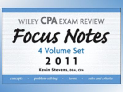 Wiley CPA Examination Review, Focus Notes Set 2011 av Kevin Stevens