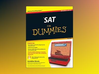 SAT For Dummies, Premier 8th Edition with CD av Geraldine Woods