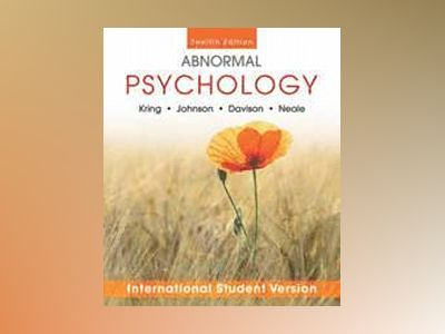 Abnormal Psychology, 12th Edition International Student Version av Ann Kring