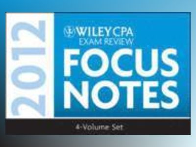 Wiley CPA Examination Review: Focus Notes Set 2012 av Kevin Stevens