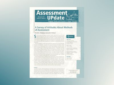 Assessment Update, Progress, Trends, and Practices in Higher Education, Vol av AU